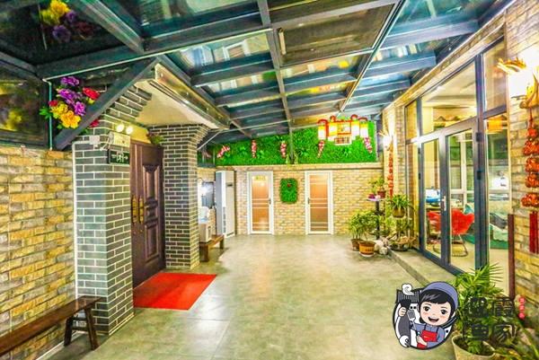 【观海别墅店】迎霞渔家餐厅大院