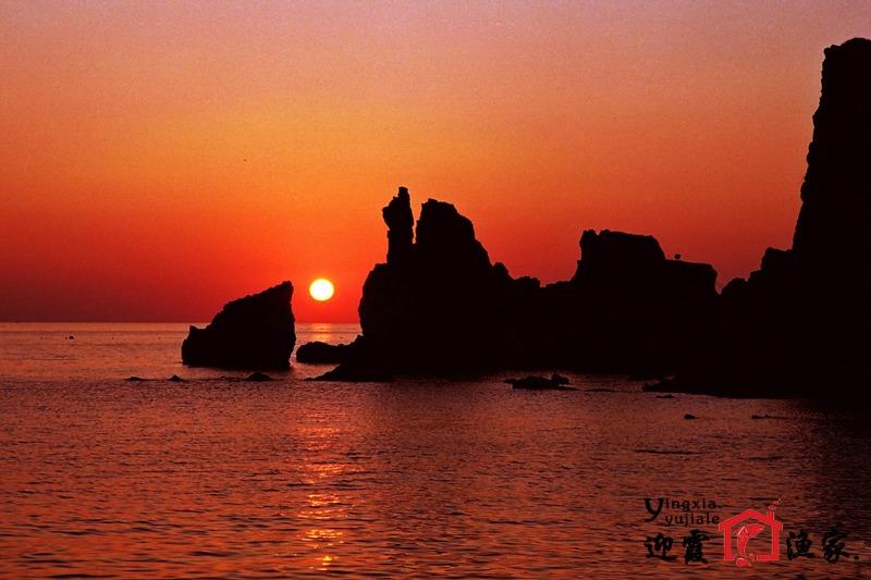 长岛望夫礁景区风景图